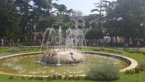 Quadrado verde, Verona Imagens de Stock Royalty Free