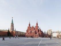 Quadrado vermelho bonito em Moscou Imagens de Stock
