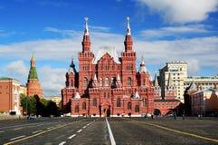 Quadrado vermelho em Moscou, Rússia, imagem de stock royalty free