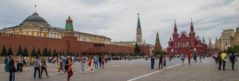 Quadrado vermelho interno em Moscou fotografia de stock