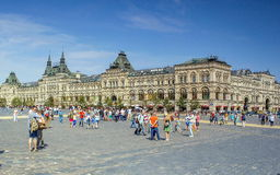 Quadrado vermelho Moscovo Fotos de Stock Royalty Free