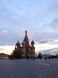 Quadrado vermelho. Moscovo, Rússia Imagens de Stock Royalty Free