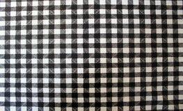 Quadrados brancos pretos Imagem de Stock