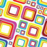 Quadrados brilhantes Imagem de Stock
