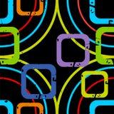 Quadrados brilhantes ilustração royalty free