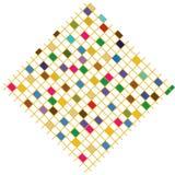 Quadrados coloridos Fotografia de Stock