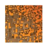 Quadrados de Brown do fundo Fotos de Stock Royalty Free