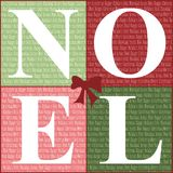 Quadrados do Feliz Natal Foto de Stock Royalty Free