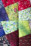 Quadrados dos retalhos para o quilt Fotos de Stock