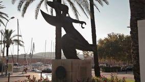 Quadrados e monumentos de cidade filme