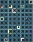 Quadrados pequenos da cor. Fotos de Stock