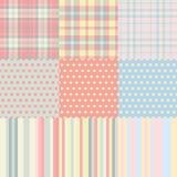 Quadrados, pontos, tiras Foto de Stock Royalty Free