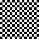 Quadrados preto e branco ilustração royalty free