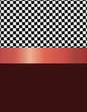 Quadrados pretos chanfrados do projeto do teste padrão Foto de Stock