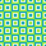 Quadrados retros Imagem de Stock