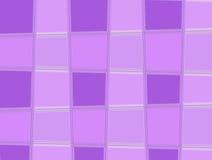 Quadrados roxos Imagens de Stock