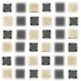 Quadrados textured modernos Fotografia de Stock Royalty Free