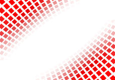Quadrados vermelhos abstratos Fotos de Stock