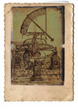 Quadrant. Old astronomy and astrology machine Royalty Free Stock Photos