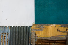 A quadrant of textures. A shot of colorful textures in quadrant with a combination of different materials suitable for background Stock Photos