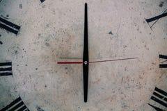 Quadrante dell'orologio antico Immagini Stock Libere da Diritti