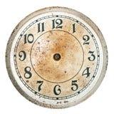 Quadrante di orologio in bianco senza mani Immagine Stock Libera da Diritti
