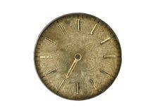 Quadrante di vecchio orologio Fotografia Stock Libera da Diritti