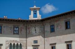 Quadrat adelt Pisa Lizenzfreie Stockfotos