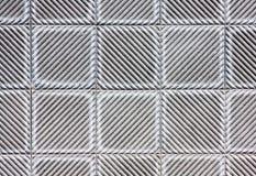 Quadrat deckt Beschaffenheit mit Ziegeln Stockfotos