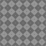Quadrat deckt nahtloses Muster mit Ziegeln lizenzfreie abbildung