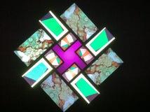 Quadrat der Farbe stockfotos