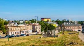 Quadrat der Getto-Opfer in Lublin Lizenzfreies Stockfoto