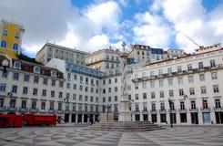 Quadrat des Lissabon-Rathauses Stockfoto