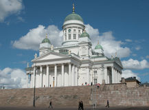 Quadrat Helsinki-Senat Lizenzfreies Stockbild