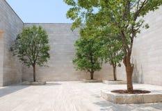Quadrat am LiangZhu Museum Lizenzfreies Stockbild