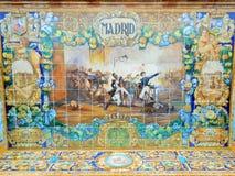 QUADRAT MADRIDS, SPANIEN, SEVILLA, SPANIEN Stockbilder