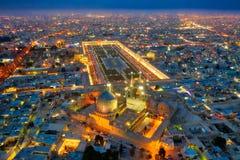 Quadrat Naqsh-e Jahan in Isfahan, der Iran, eingelassenes Januray 2019 eingelassenes hdr stockfoto