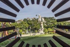 Quadrat Paris Rio de Janeiro lizenzfreie stockbilder
