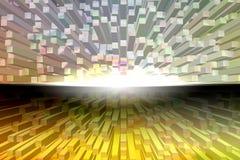 Quadrat prägen abstrakten Hintergrund Stockbild