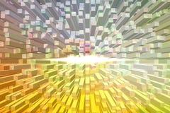 Quadrat prägen abstrakten Hintergrund Lizenzfreie Stockfotografie