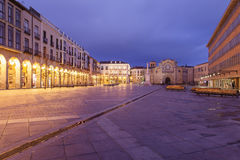 Quadrat Sankt Teresa Stockfoto