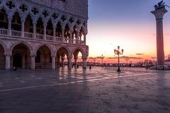 Quadrat Sans Marco in Venedig Italy lizenzfreies stockfoto