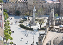 Quadrat in Sevilla Lizenzfreie Stockfotografie