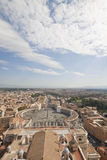 Quadrat Str.-Peters, Rom, Italien lizenzfreie stockfotografie