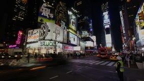Quadrat Timelapse New York Times stock video footage