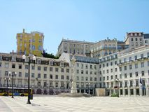 Quadrat tun Municipio, Lissabon, Portugal Stockfoto