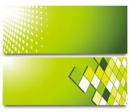 Quadrat und leerer Hintergrund des Kreises Lizenzfreie Stockfotos