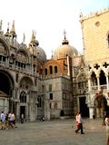 Quadrat in Venedig Stockfoto