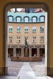 Quadrat von Branting in der alten Stadt, Stockholm Stockfotografie