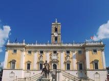 Quadrat von Campidoglio Lizenzfreie Stockfotos
